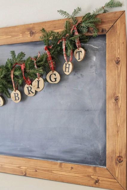 Rustic Christmas Garland DIY