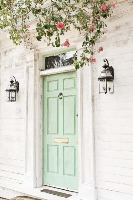 Pretty Front Door Colors