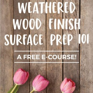 Weathered Wood Surface Prep 101