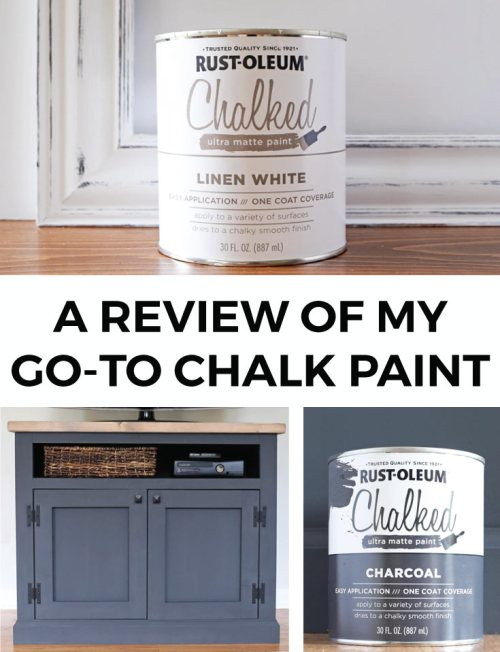 A Review of my new go-to chalk paint