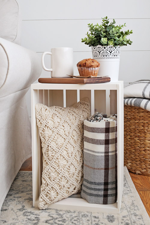 Merveilleux Crate Side Table