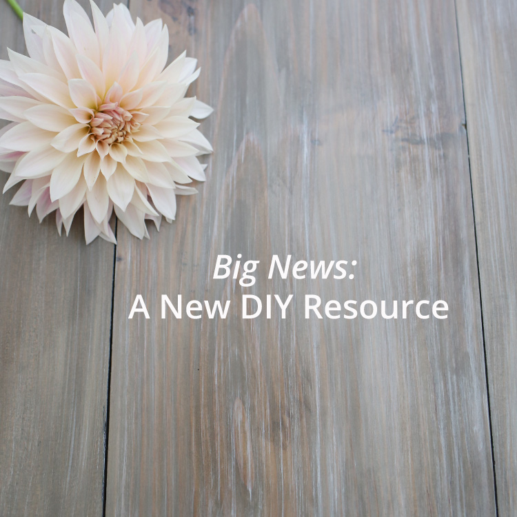 Big News - Weathered Wood Recipes