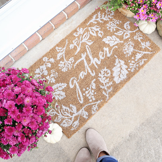 Fall Porch Decor: 5 Cute Doormats