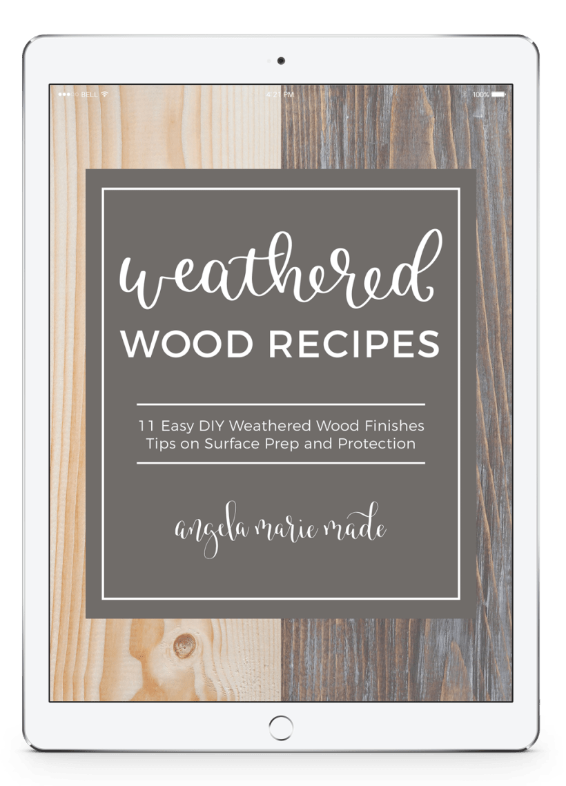 Weathered Wood Recipes