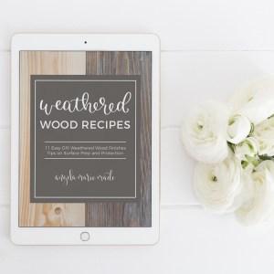 Weathered Wood Recipes