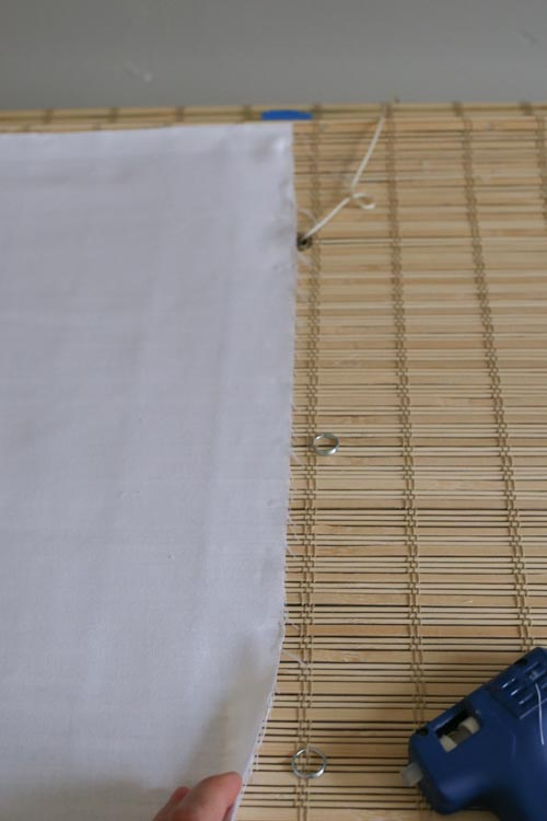 Bamboo Blinds How To Trim To Size And Add A Privacy Liner
