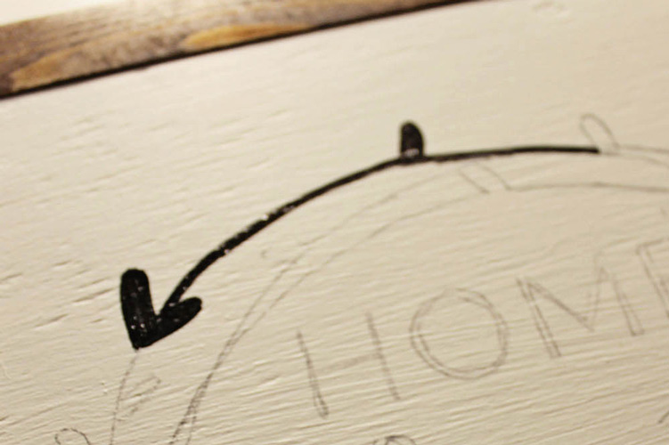 transfering a desing onto wood
