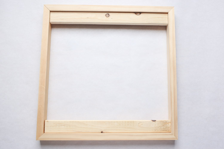 How to Make a Large Picture Frame on a Budget - Angela Marie Made
