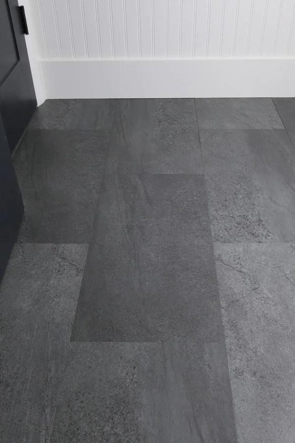 vinyl flooring bathroom update angela