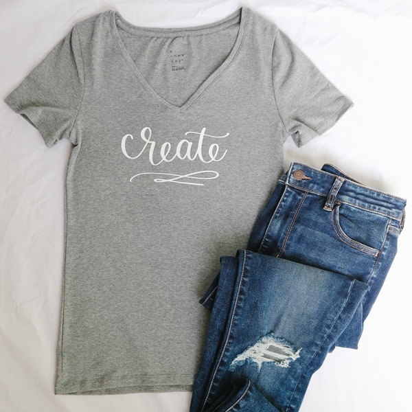 How to use heat transfer vinyl on a t shirt