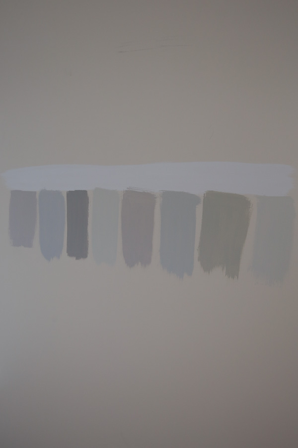 Added another paint color to the wall for testing
