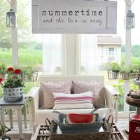 Summertime Screen Porch