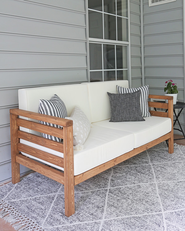 diy outdoor couch angela marie made