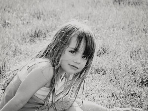 My wild-hair girl when she was 3.