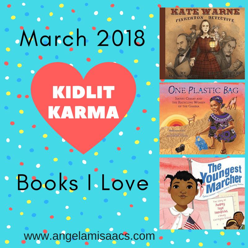 Kidlit Karma March 2018 graphic