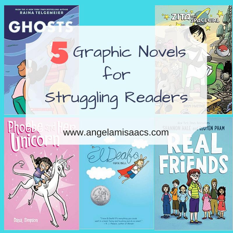 5 Graphic Novels for Struggling Readers