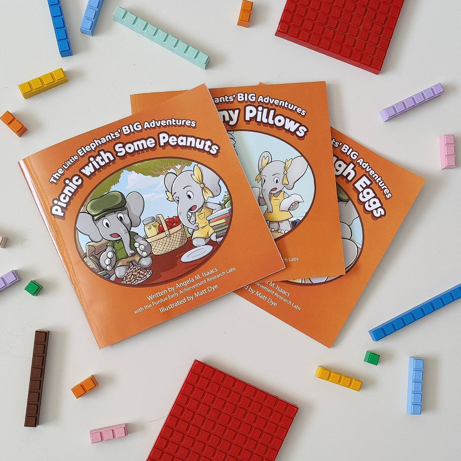 Photo of Picture books: The Little Elephants' Big Adventures series