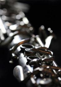 clarinet close up photograph by Angela Murdock