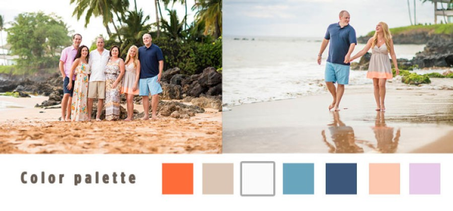 what to wear maui family portraits