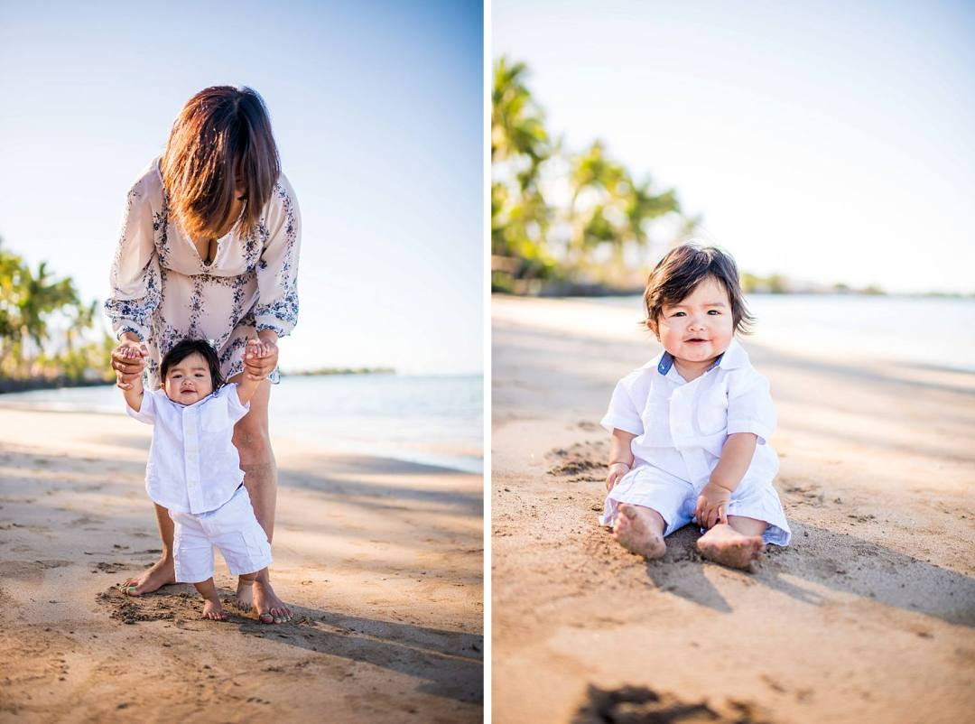 Lahaina Family Photographer - Baby Beach_0012