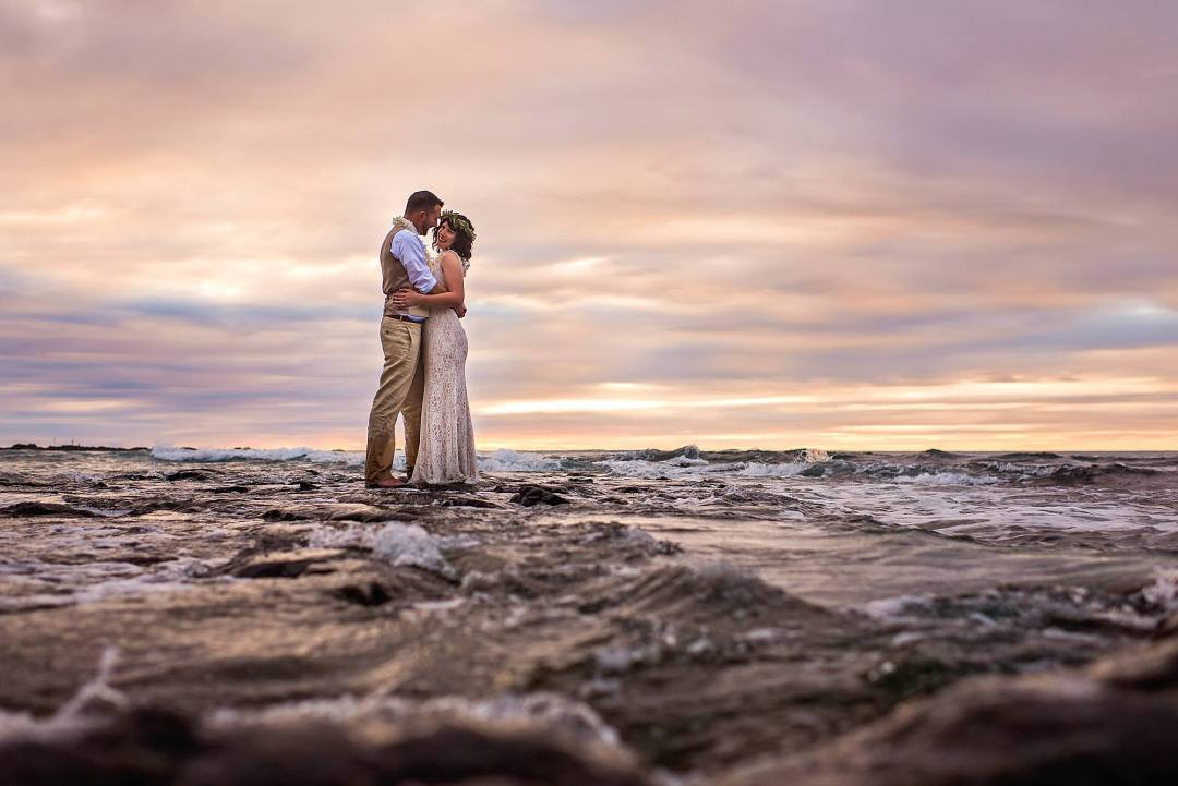 Four seasons at hualai - big island wedding