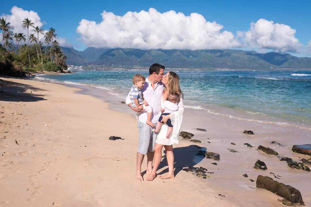 family portraits on maui's north shore