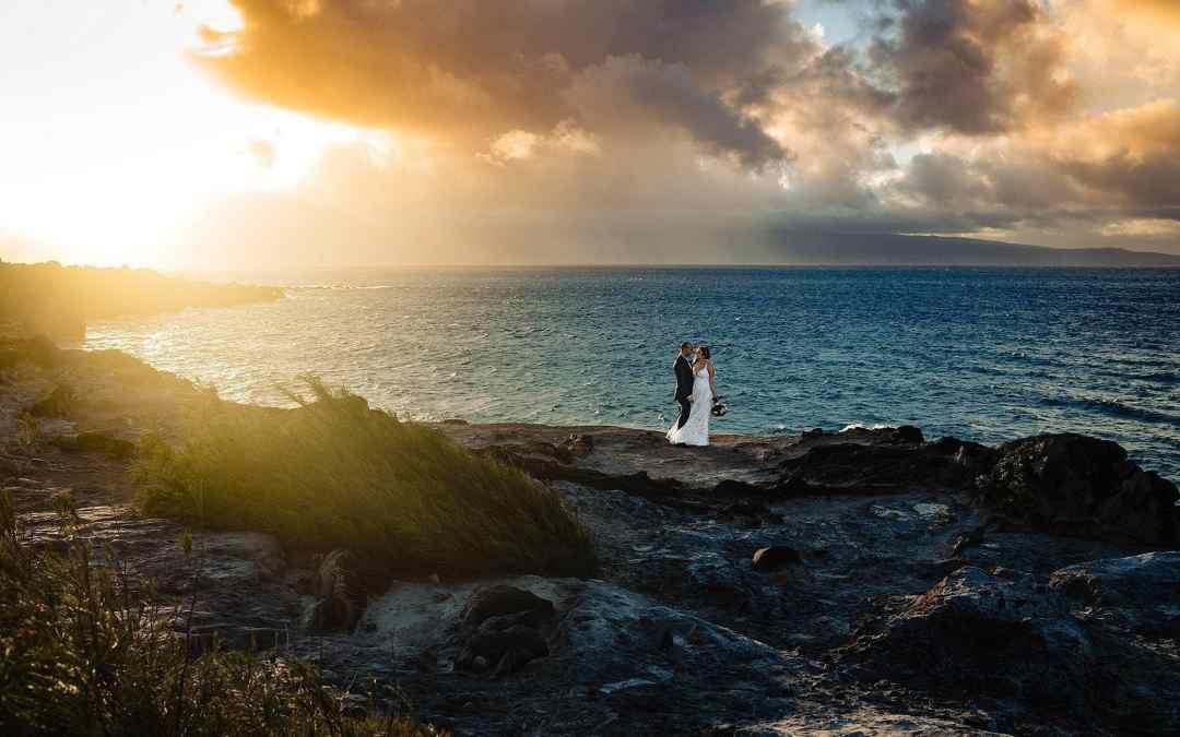 Oneloa Beach Wedding   Krystal + Danny