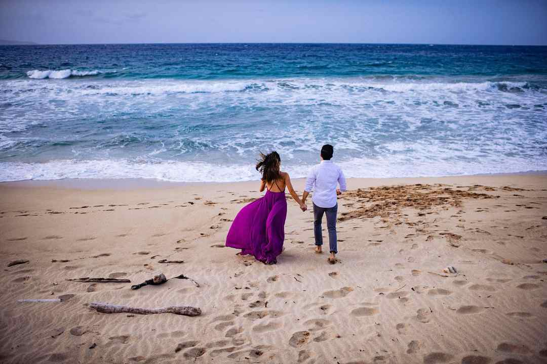 ironwoods beach in kapalua for portraits