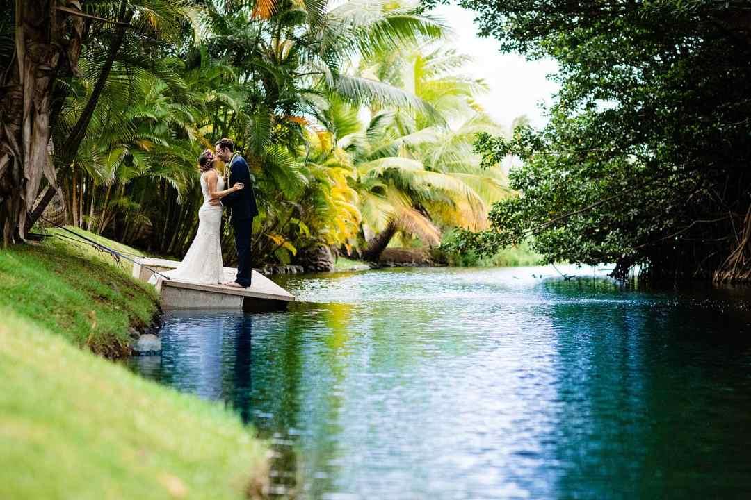 vibrant kihei wedding