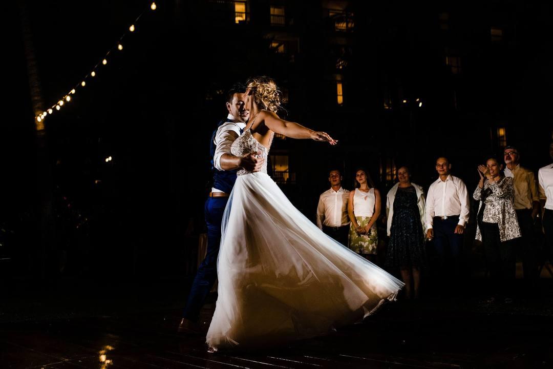 first dance at hyatt maui for wedding