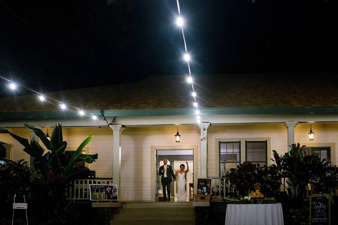 grand entrance at olowalu plantation house