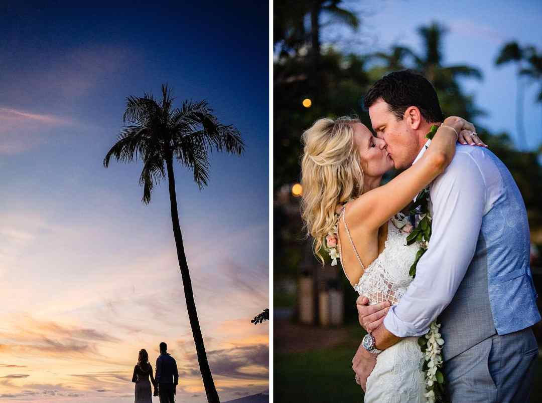 romantic photos at westin kaanapali