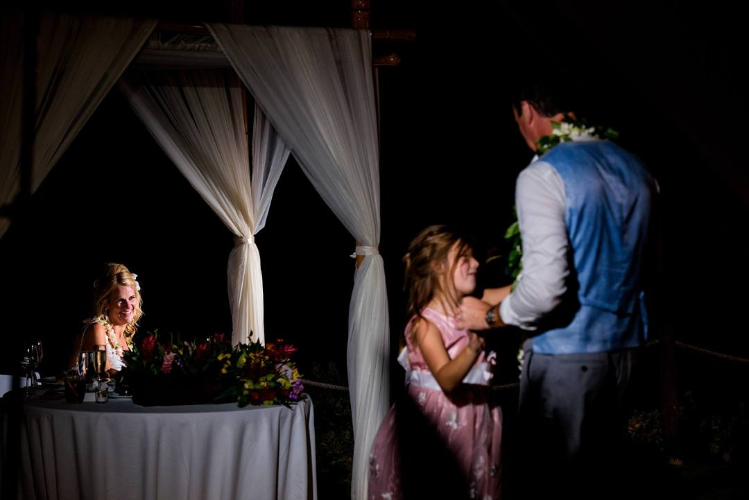 first dance with groom and his daughter