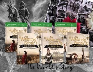 world's story banner