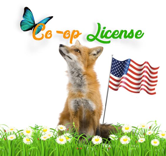 Co-op License