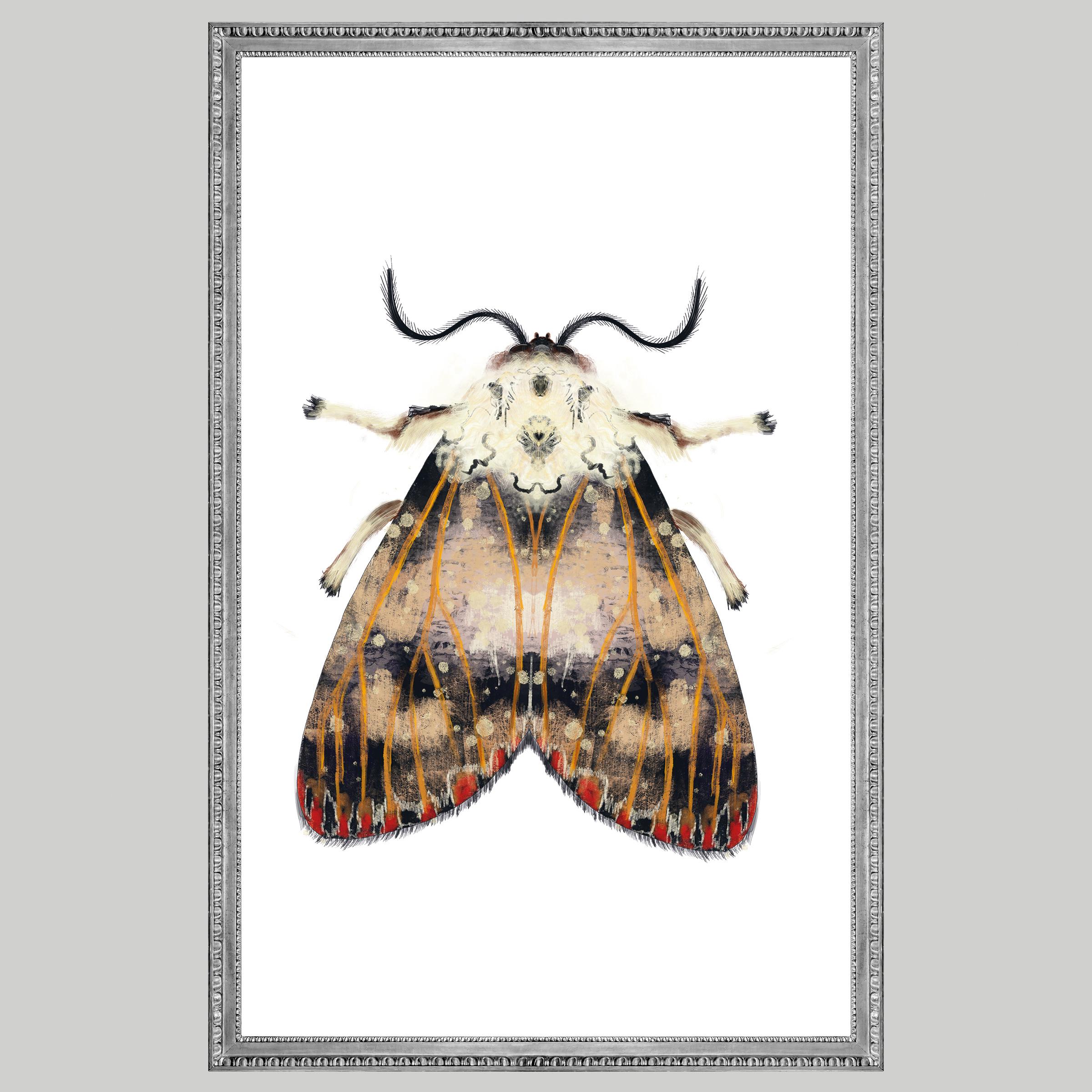 Moth red spots, Natuurlijk Angelart, Angela Peters. Illustratie