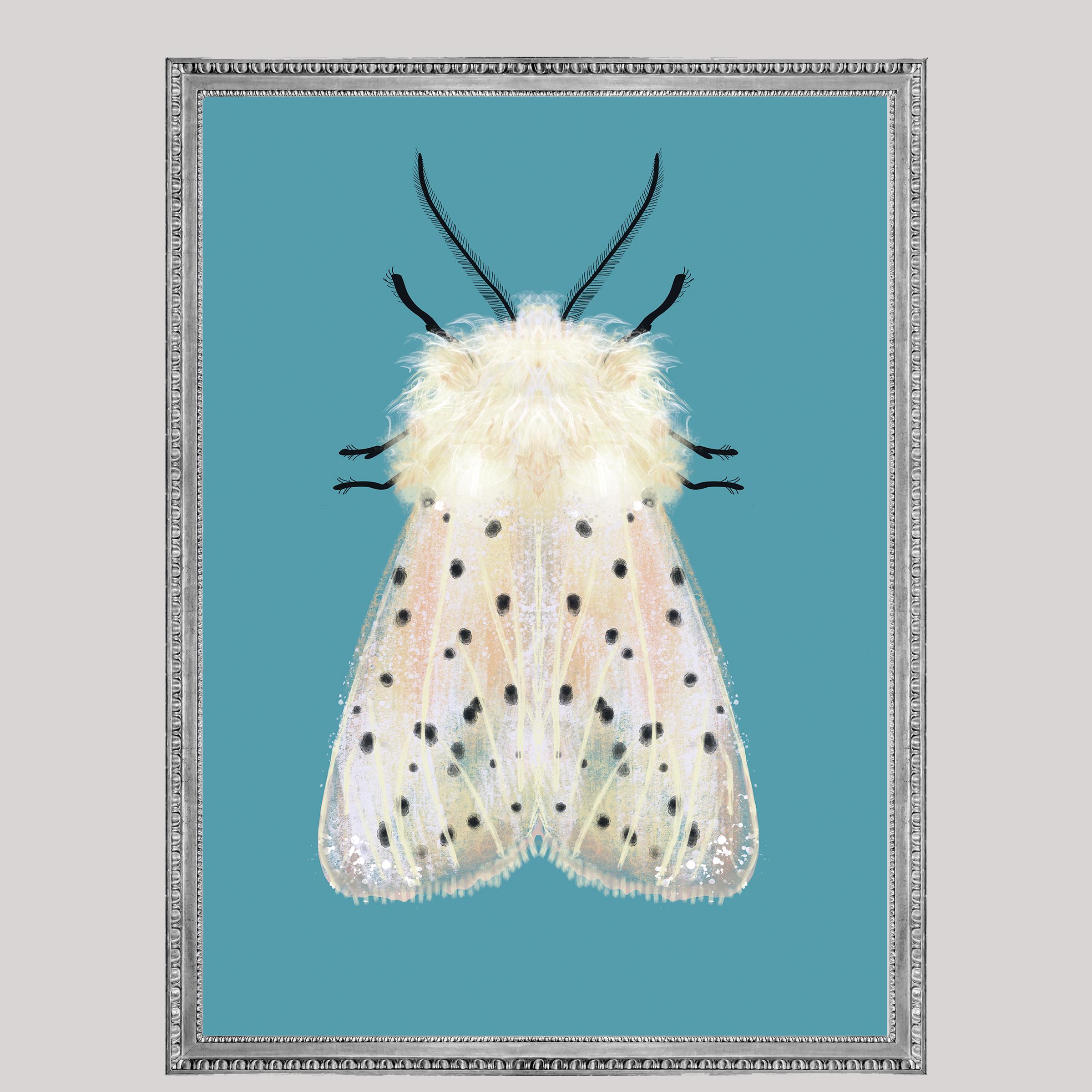 Witte mot zwarte vlekken, Natuurlijk Angelart, Angela Peters. Illustratie
