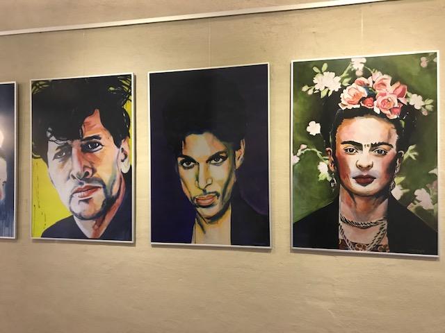 limited edition Giclée Print Herman Brood, prince, Frida Kahlo Angela Peters beeldende kunst
