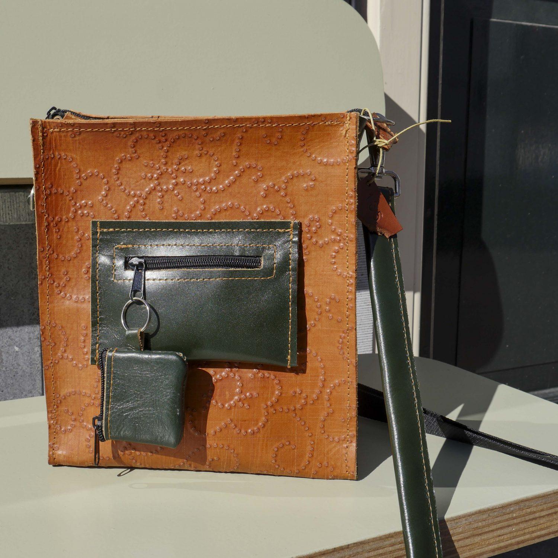 TasX van Danielle Penninkhof, stoere leren tassen bij Angelart Kunst&Zo