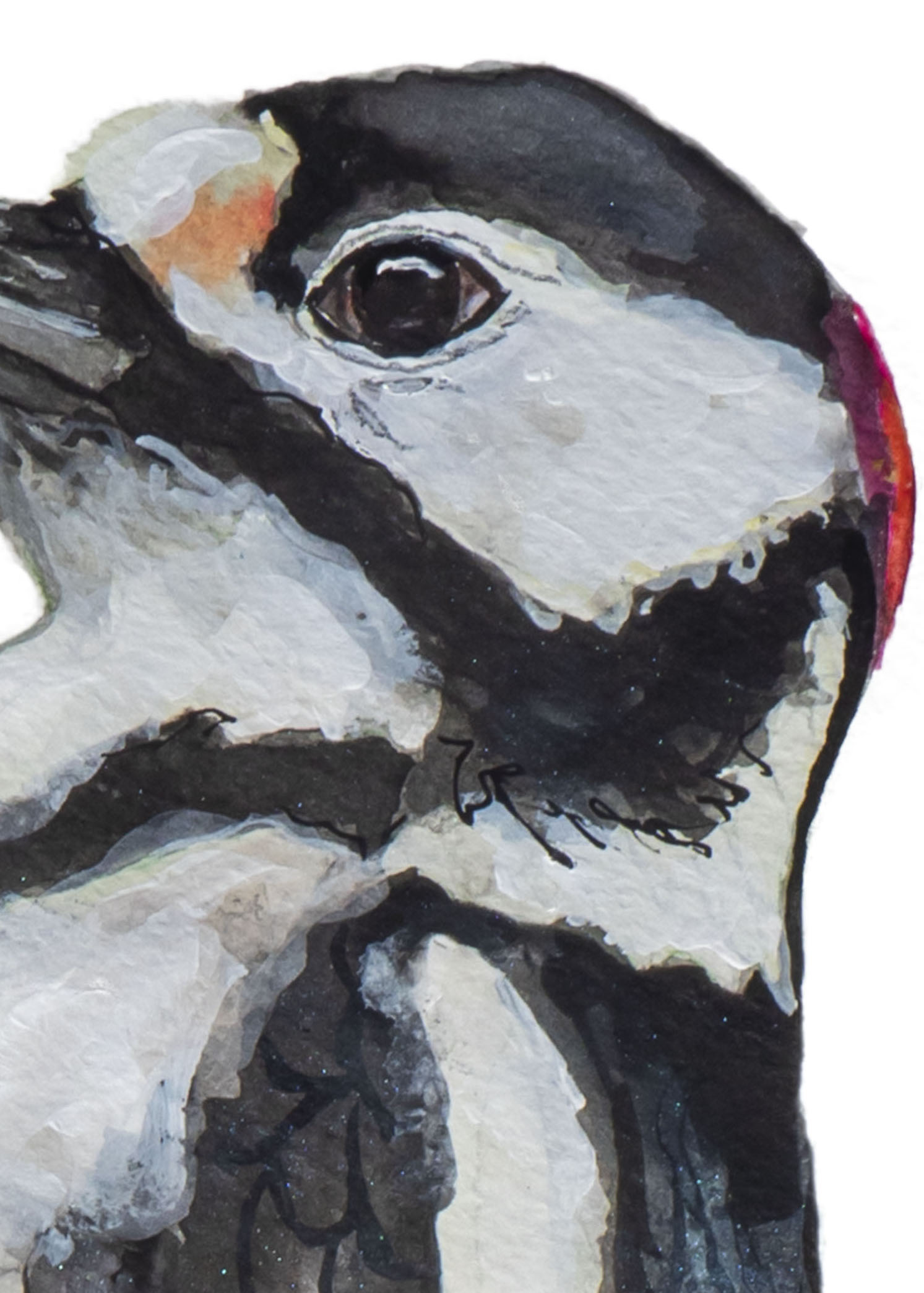 Bonte Specht Kunstprint - Vogel Kunst- Kunst aan de muur - Vogel Poster - Vogel Art Print angelart kunst&Zo Angela Peters