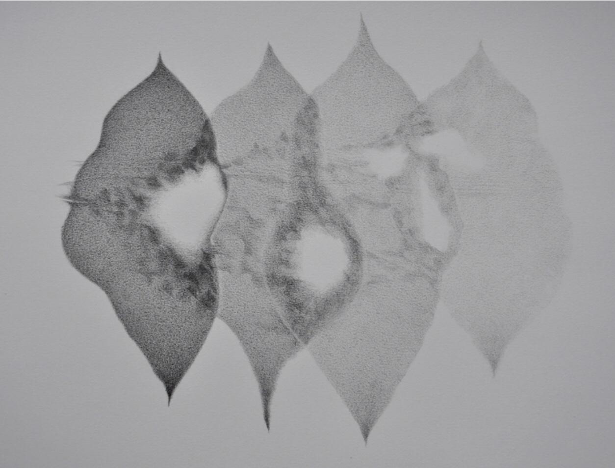 Lia Nauta van Herk, tekeningen en monoprints Angelart