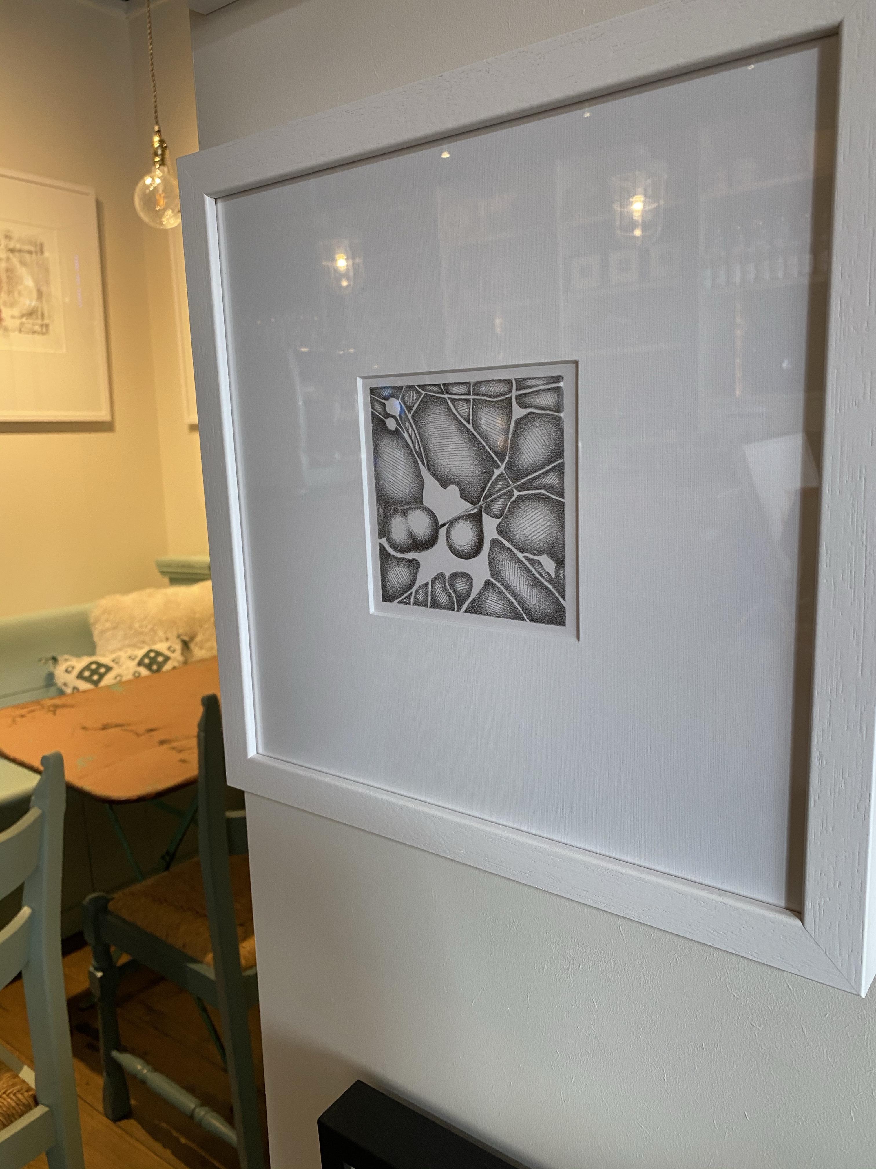 Lia Nauta van Herk, tekeningen en monoprints Angelart Kunst&zo Hattem Nijverdal