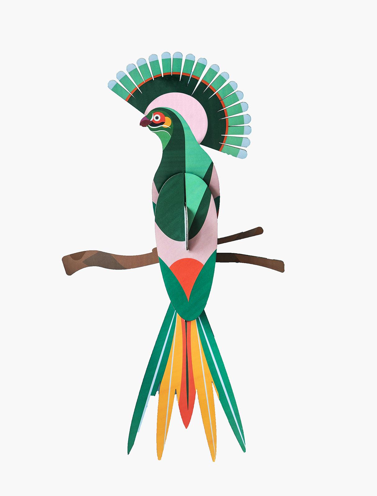 Paradijsvogel Gili Studio roof bij Angelart kunst en zo Hattem paradijs vogel