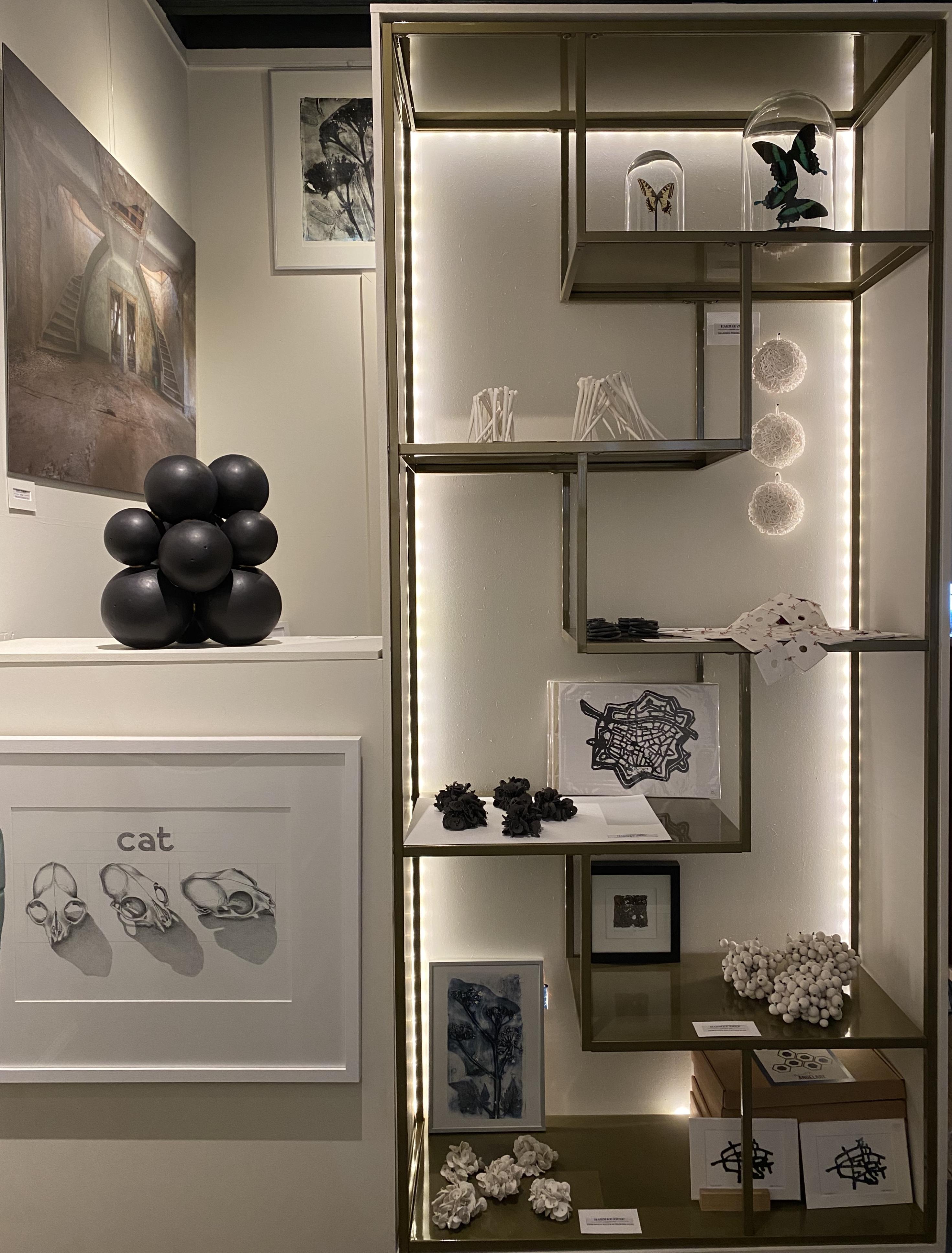 Werken met keramiek en porselein Harmke Zwep Angelart Kunst en Zo galerie Hattem