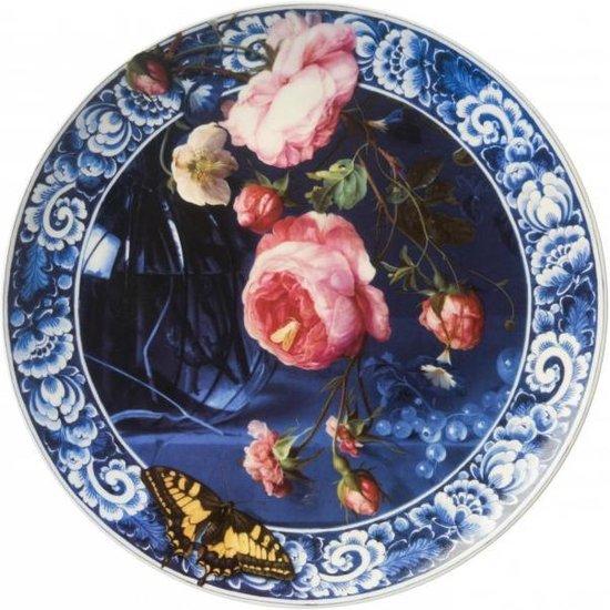 Bloemen van de Gouden Eeuw Heinen Delfts Blauw bij Angelart Kunst en Zo Hattem