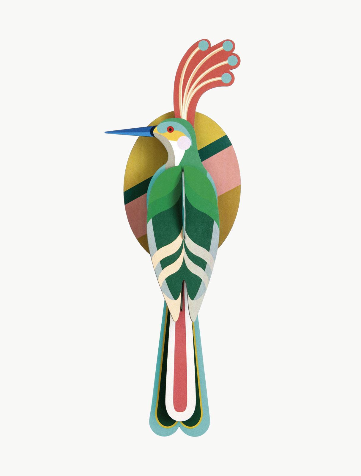 Paradijsvogel voor aan de wand Studio Roof bij Angelart