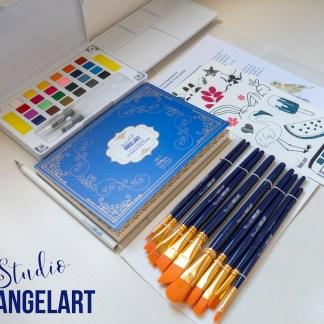 Aquarel workshop thuis workshops