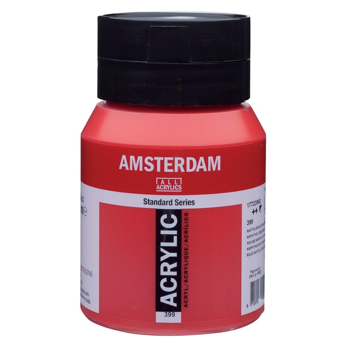 Amsterdam acrylverf Naftolrood donker 399