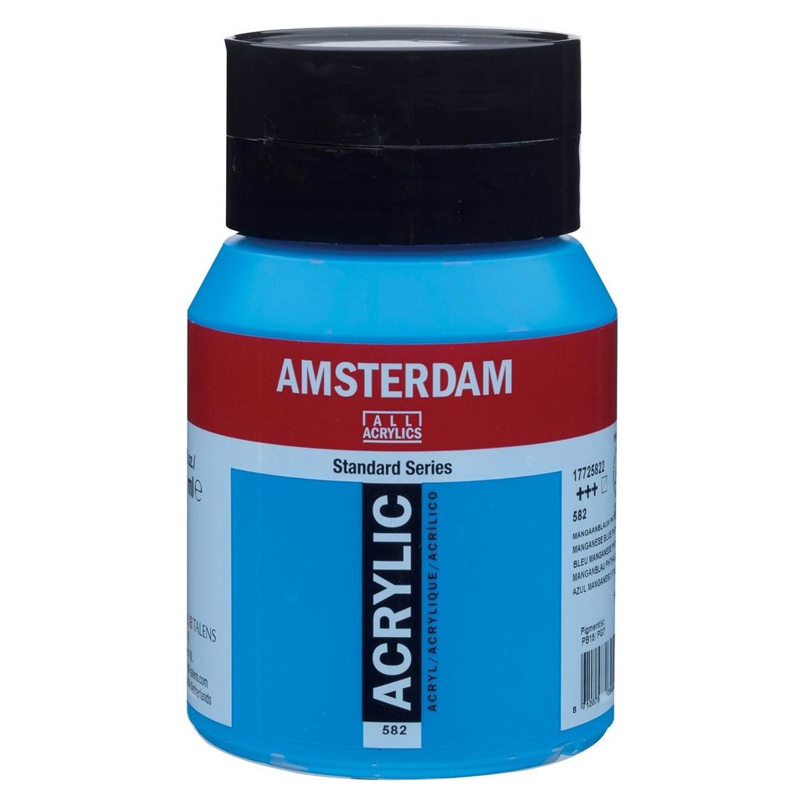 Amsterdam acrylverf Mangaanblauw phtalo 582 Angelart Kunst en zo