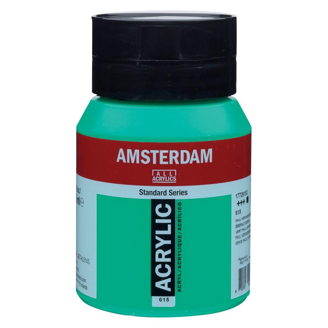 Amsterdam acrylverf Paul Veronesegroen 615 Angelart Kunst en zo